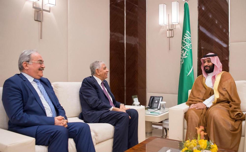 Vice Custodian of the Two Holy Mosques Discusses Oil Policies with Iraqi Petroleum Minister