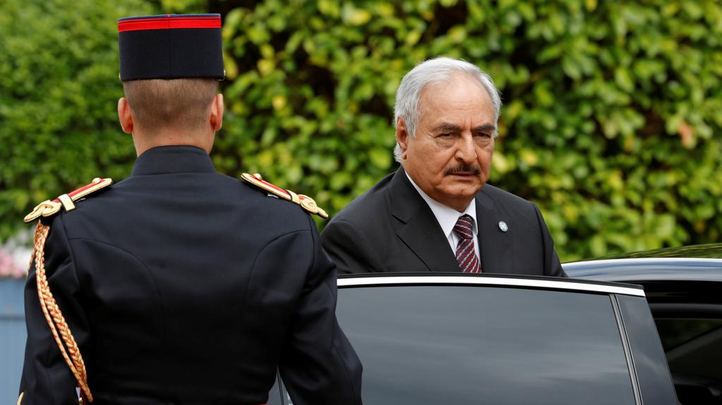 LNA Leader Haftar Orders Confrontation against Italian Warships