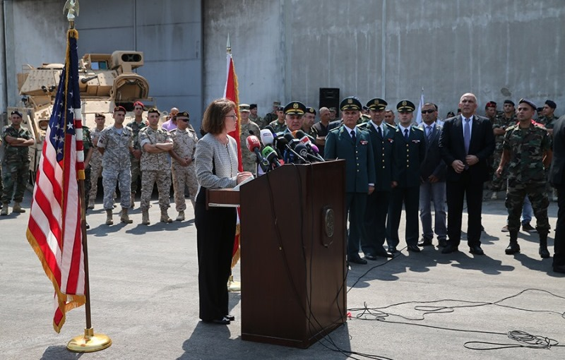 US Delivers Fighting Vehicles to the Lebanese Army