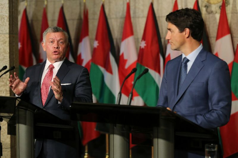 King AbdullahII Hopes for Bigger Syria Ceasefire