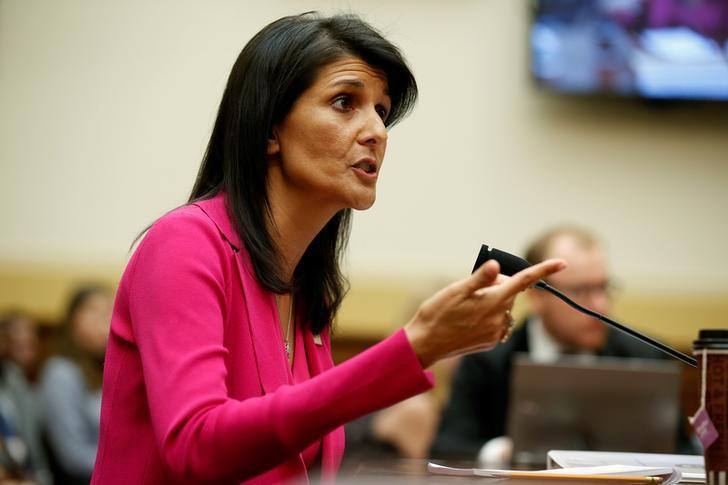 US Ambassador Haley Voices Concerns on IAEA Inspectors not Gaining Access to Iran Military Bases