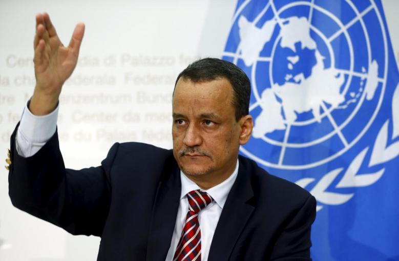Ould Cheikh Discuses with UAE's FM Yemeni Developments