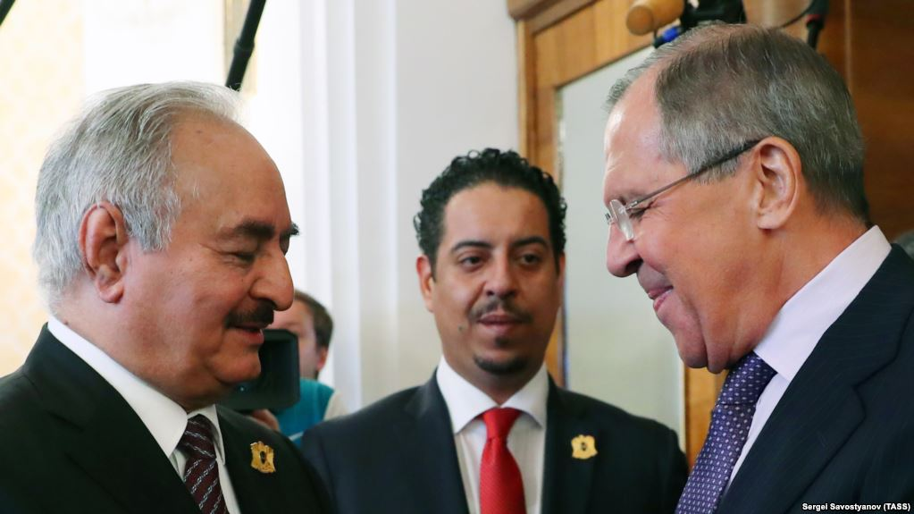 Moscow Supports Haftar's Counter-Terrorism Efforts, Salama Meets Politicians in Misrata