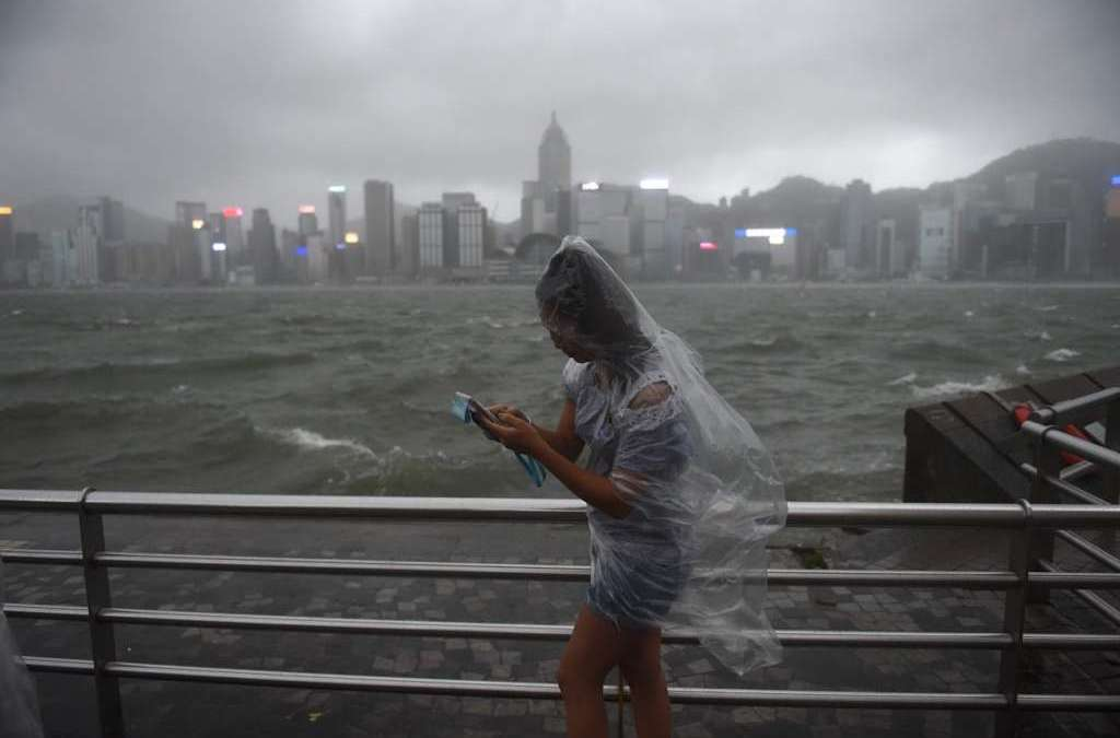 Typhoon Leaves 16 Dead after Lashing Southern China