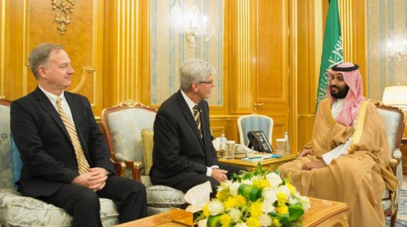 Saudi Crown Prince Meets with Mississippi Governor