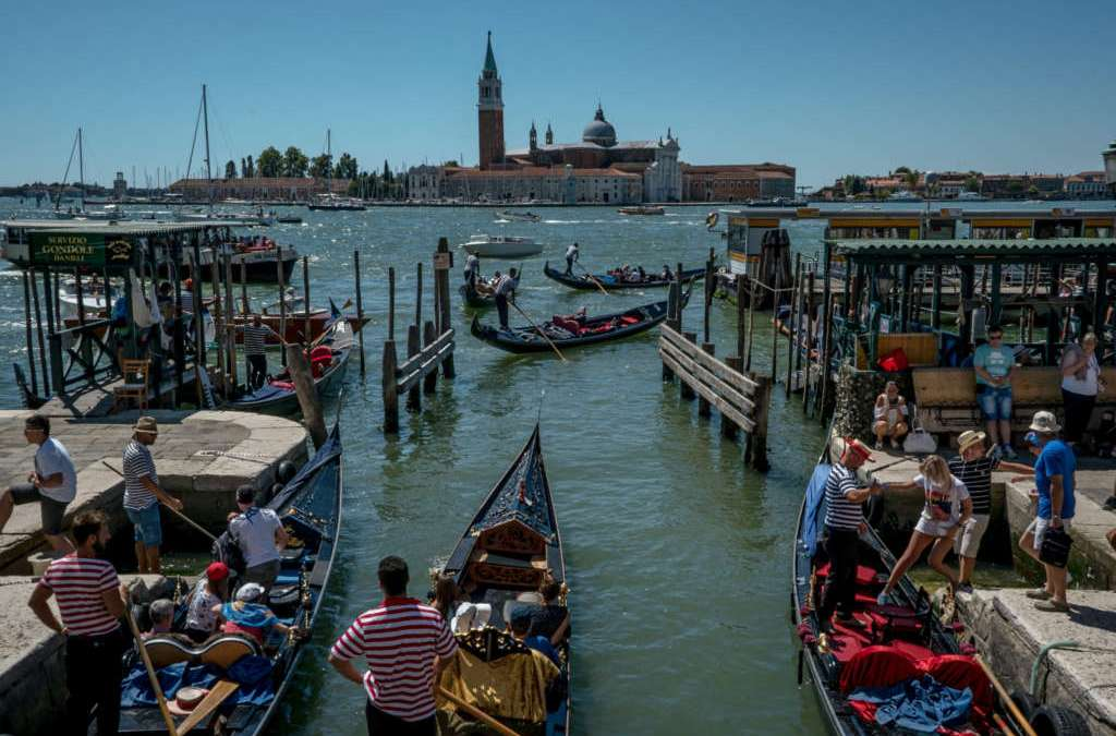 Venice, Invaded by Tourists, Risks Becoming 'Disneyland on the Sea'