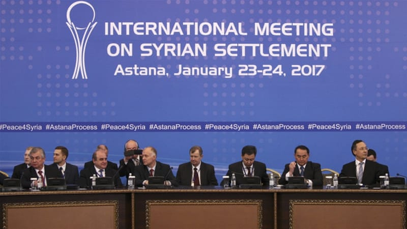 Technical Consultations Precede Astana 6, Washington Participates as Observer