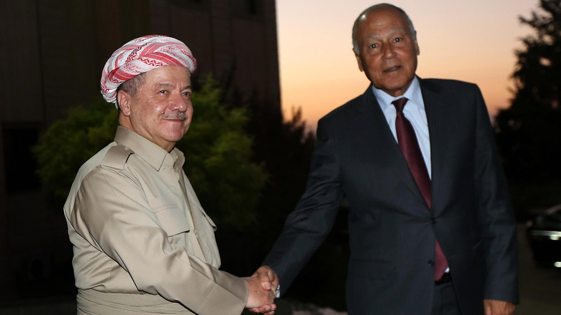 Aboul Gheit Calls for Strengthening Federal State to Guarantee Iraq's Unity