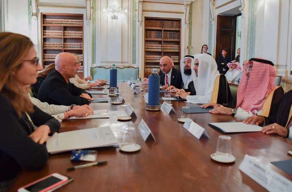 Italian Minister of Interior Affairs Receives MWL Sec-Gen