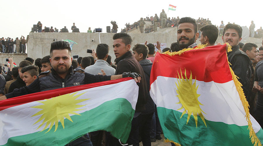 Kurds Celebrate Launch of Independence Referendum Campaign