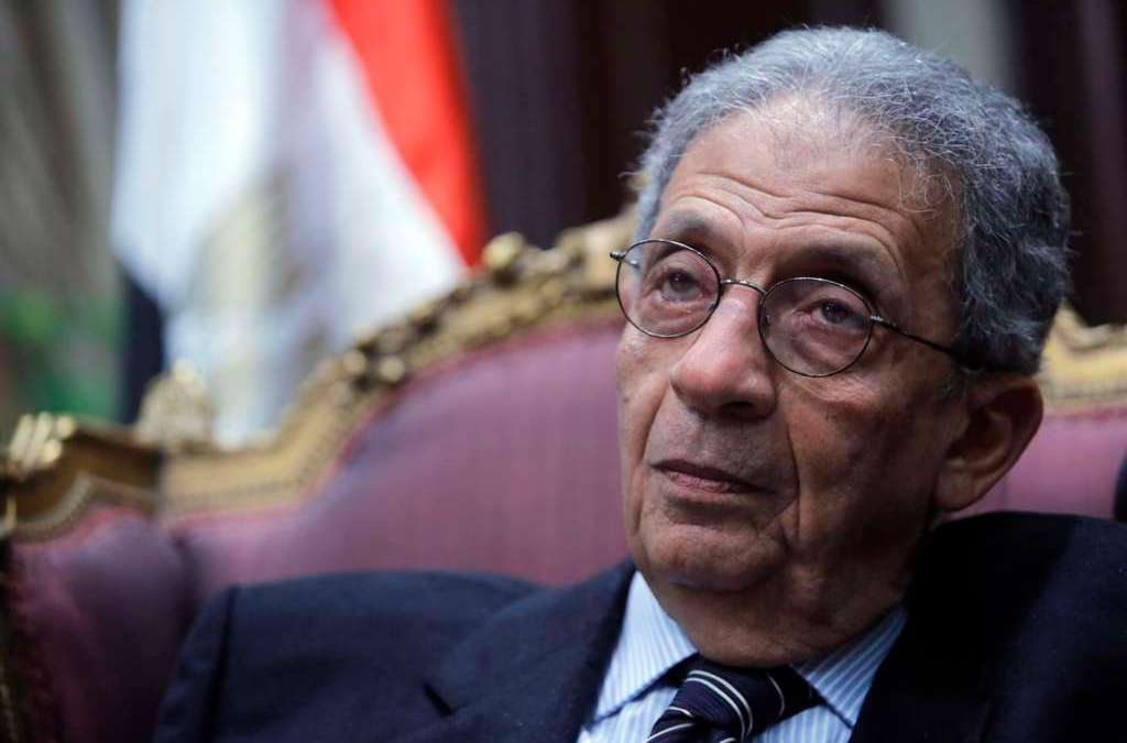 Amr Moussa Reveals Scenes from his Journey with Diplomacy