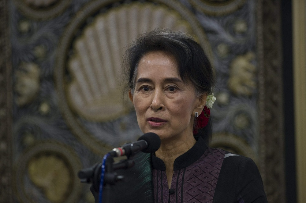 Myanmar's Suu Kyi to Skip UN General Assembly as Aid Pours in for Rohingya
