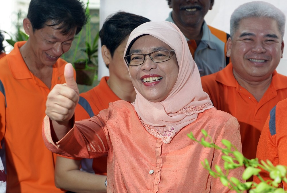 Singapore Elects its First Female President