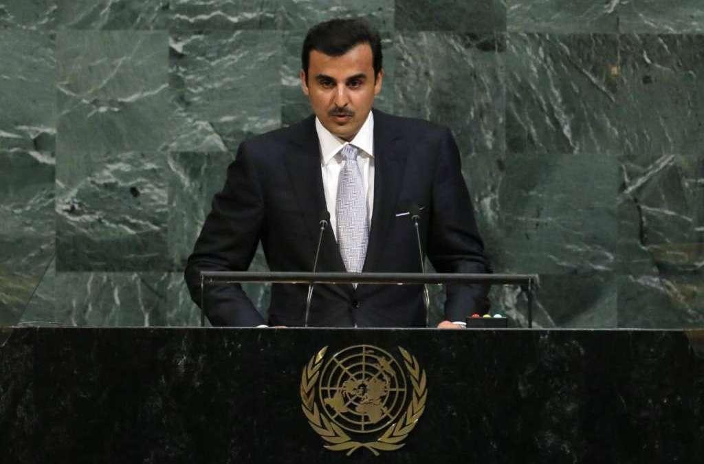 Qatar's Emir Disregards Reasons behind Crisis