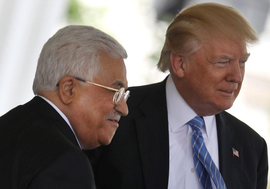 Trump to Discuss Regional Settlement with Abbas, Netanyahu