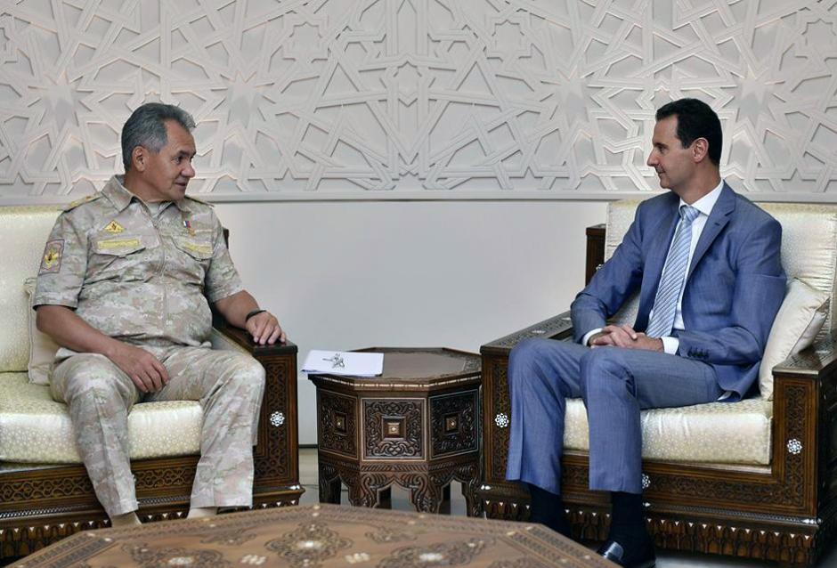 Assad Receives Russian Minister of Defense