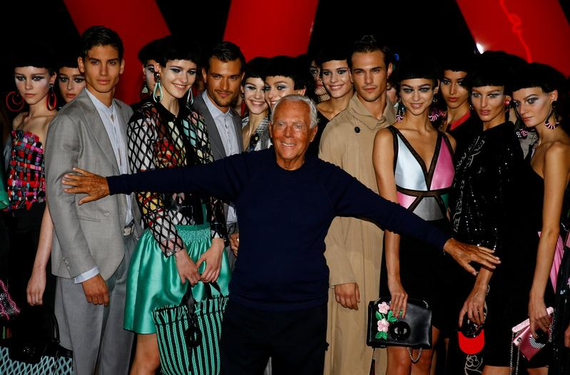 Giorgio Armani: Colors Can Chase Away the Blues