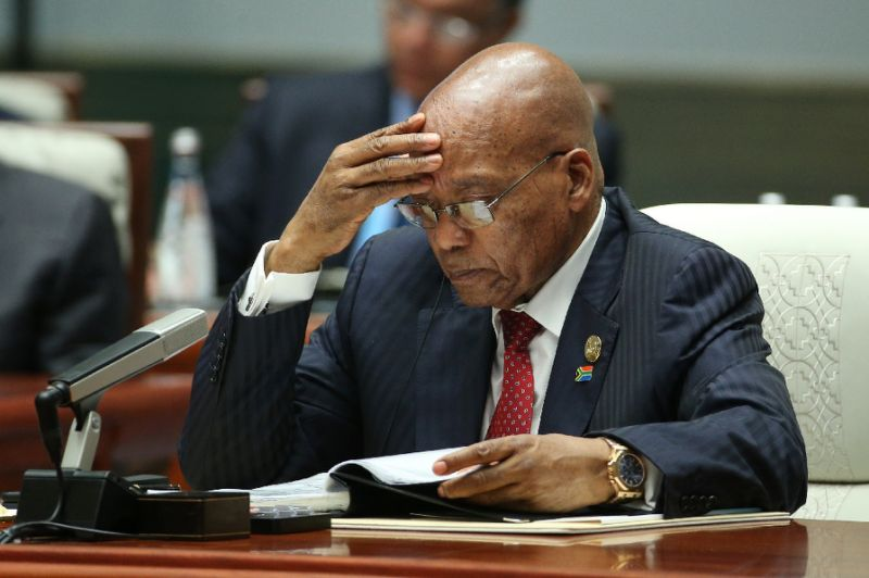 South African Opposition Parties Petition Supreme Court to Impeach President Jacob Zuma