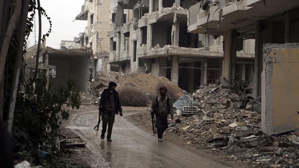 Regime Forces Attack 'De-escalation Zones' in East Damascus