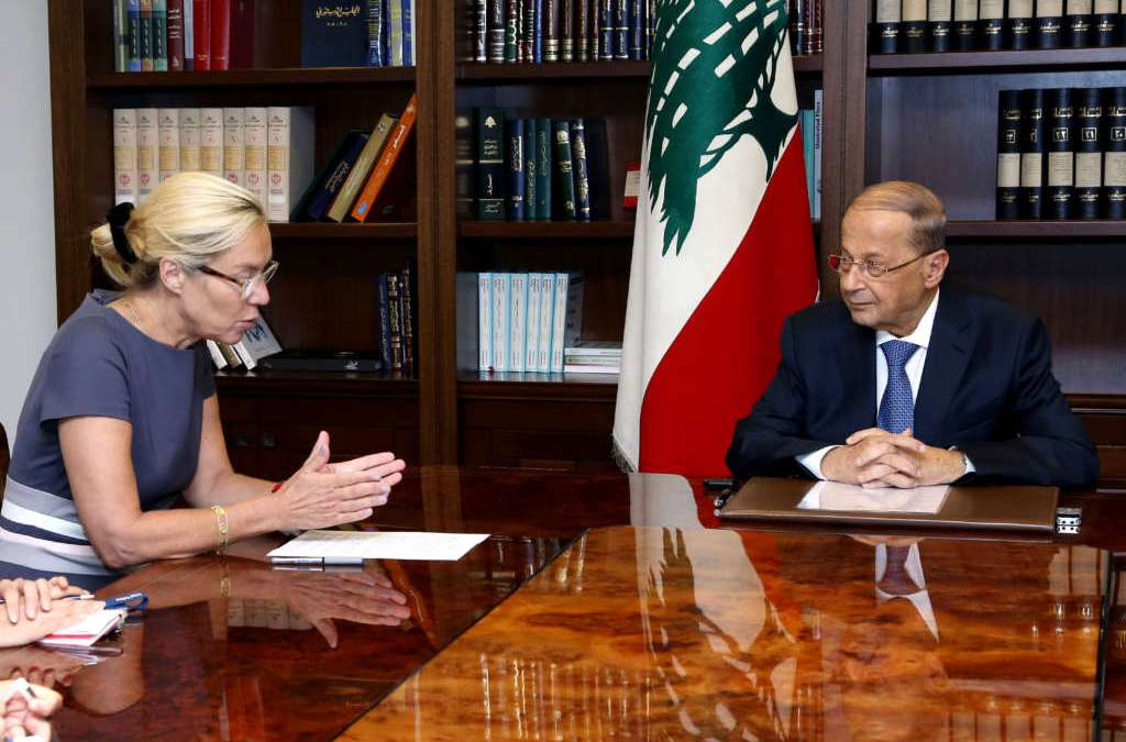 Aoun Lauds Renewal of UNIFIL Mandate ahead of Trip to New York