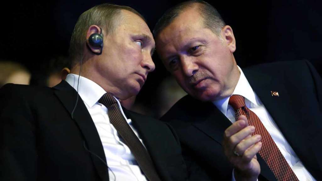 Putin, Erdogan Discuss Idlib De-escalation Zone