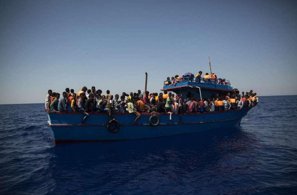 Romania Coastguard Intercepted Two Fishing Boats Carrying Migrants
