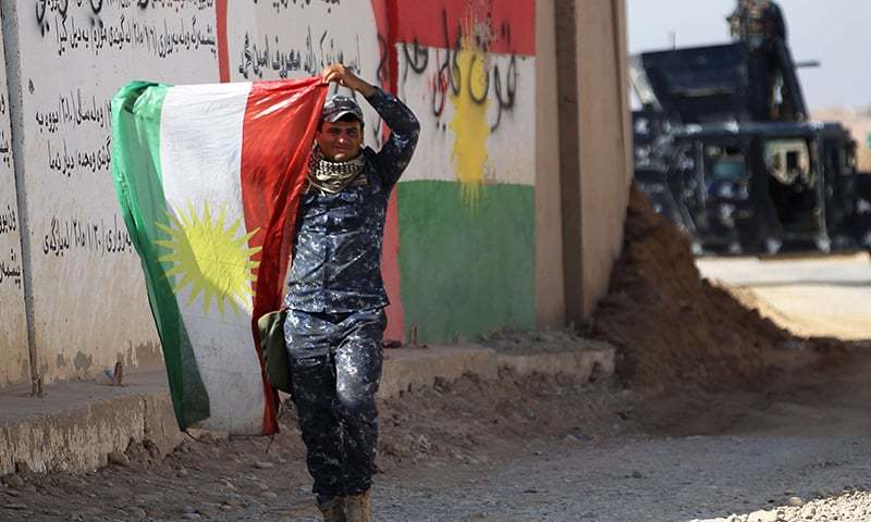 Baghdad Recaptures Kirkuk and its Oil without Resistance as Irbil Condemns 'Treason'