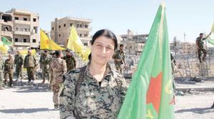 SDF spokeswoman Jihan Sheikh Ahmed