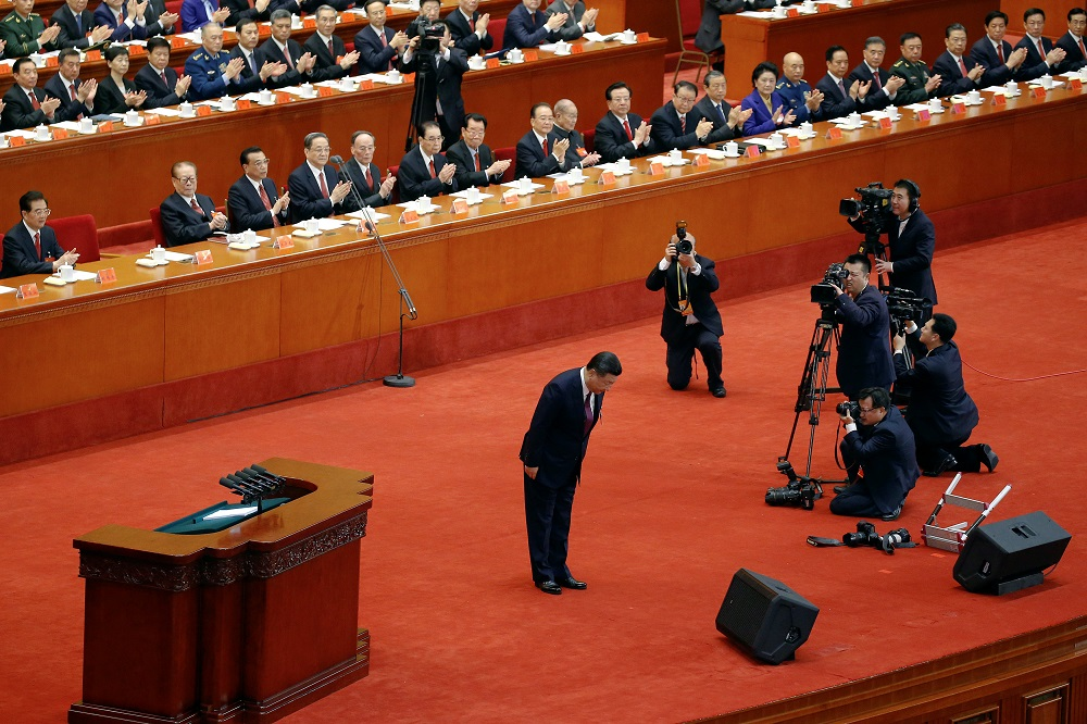 Xi Pledges 'New Era' for China, Vows to Counter Taiwan Independence Drive