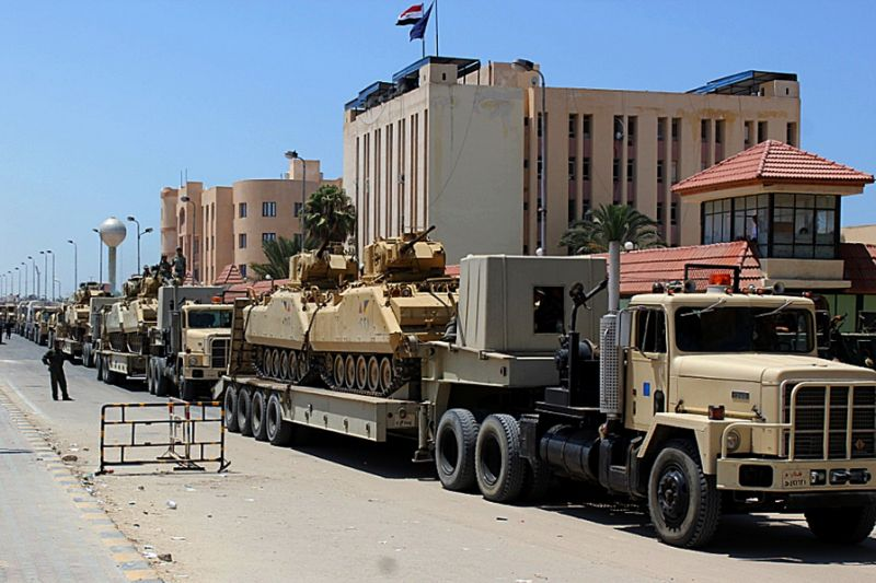 6 Egyptian Soldiers Killed in Sinai Terrorist Attack
