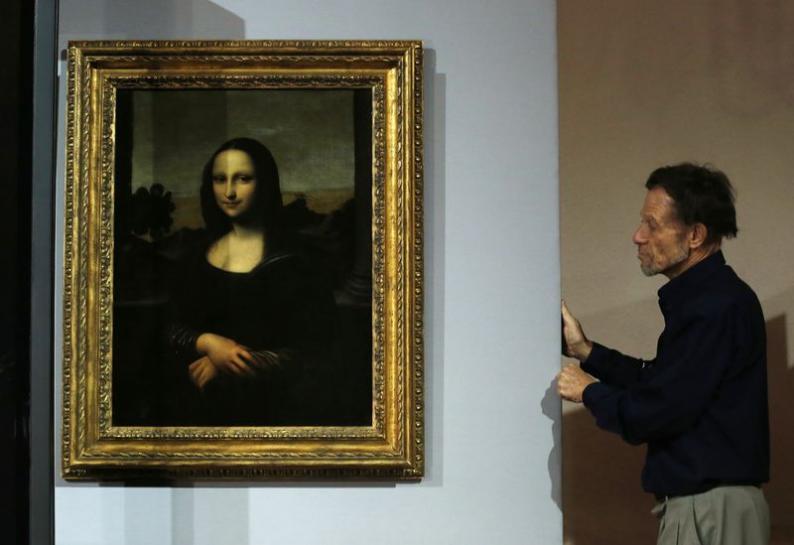 Mona Lisa Has Charcoal Preparatory Sketch, French Expert Says