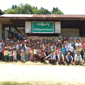 CEDAR staff visited Camp S for the first time in May 2017, where the church faced difficulties in sending the children to schools