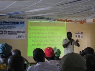 Presentation LEITI workshop