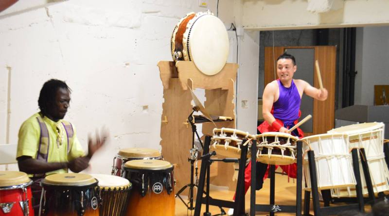 african and japanese drums