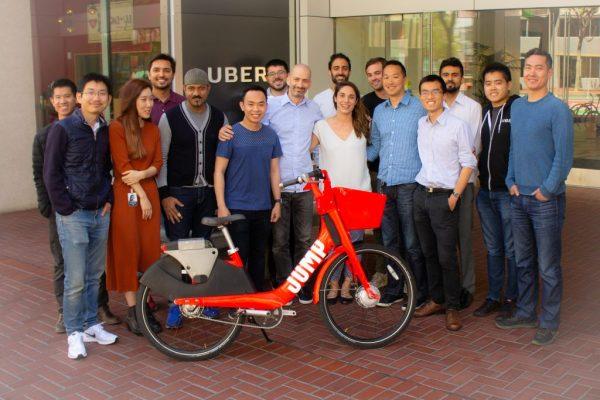 Uber Bike team