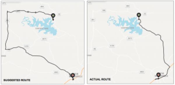 Figure 3 - Enhancing the Quality of Uber's Maps with Metrics Computation
