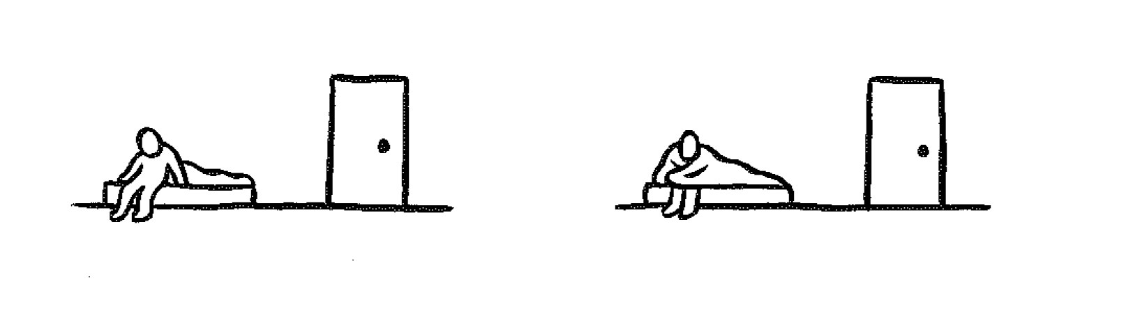 Series of comic sketches showing depression
