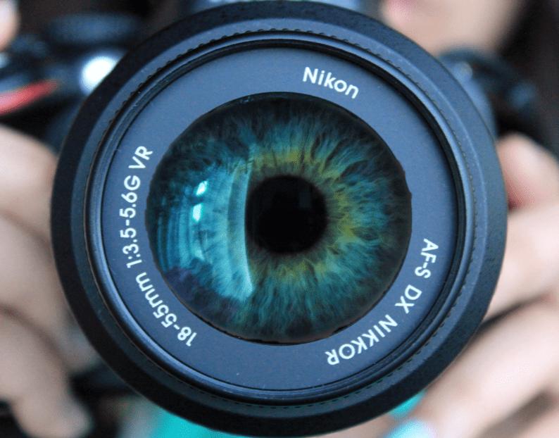 lens + eye
