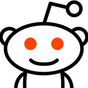 Pictured: the logo for the website Reddit.