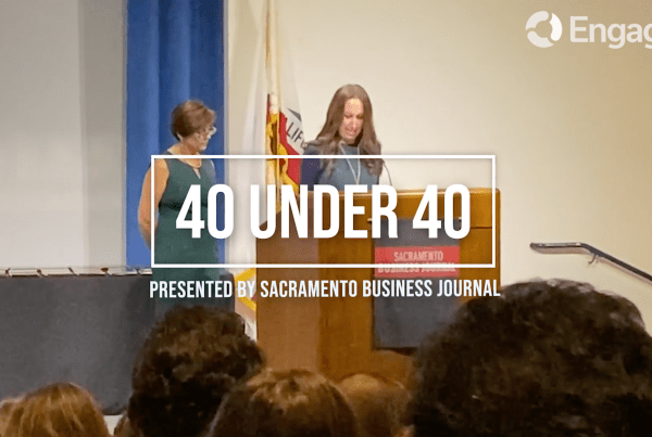Sacramento Business Journal: Engage3 COO is one of 40 Under 40 award recipients