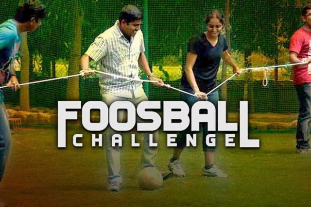 Human Foosball - Employee Engagement Game