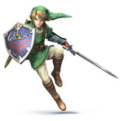 Super Smash Brothers Characters - Link