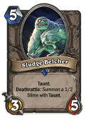 Sludge Belcher HearthStone Curse of Naxxramas Neutral Card