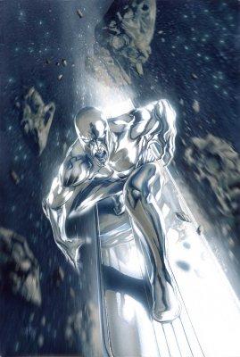 The Silver Surfer Marvel comics super hero