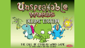 Board Game Review: Unspeakable Words Deluxe Edition