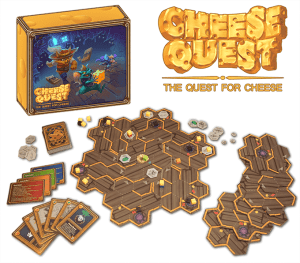 Kickstarter Preview - Cheese Quest: The Quest for Cheese