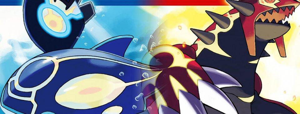 Legendary Pokemon Groudon and Kyogre