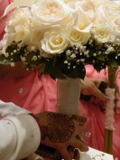 Henna and Bridal Bouquet