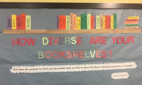 How diverse is YOUR bookshelf?
