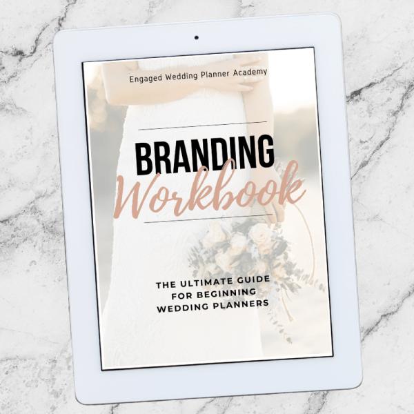 Wedding Planner Branding Workbook